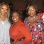 Jai Marie of Southern Fashionality and Tameka Morrison of T. Morrison Agency, along with Nikka Shae