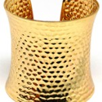 Make a statement in this Gold Cuff bracelet by Pritti Gemz