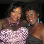Me with my dance partner Jeannell Darden of Coco Curls