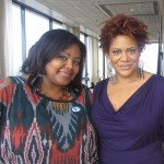 Nikka Shae and Kim Coles just mere hours before their epic dance off