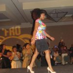 Tarin Boone graces the runway as Fro Fashion Week concludes