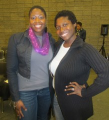 The fab Lenora Bowler of Brainchild Associates along with Tiffani of Atlanta Tastemaker Magazine