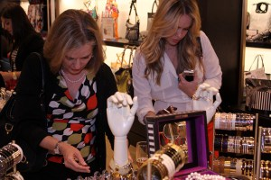 Guests shop Henri Bendel's fab collection of haute accessories, jewelry, and personal gifts