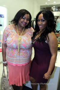 Nikka Shae with the lovely Janelle Langford of Urban Suite PR.
