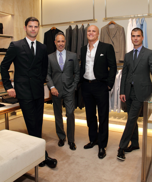 Meet the distinguished hosts (l to r), Brett Fahlgren, E. Vincent Martinez, Coy Wire, and Hugh Acheson