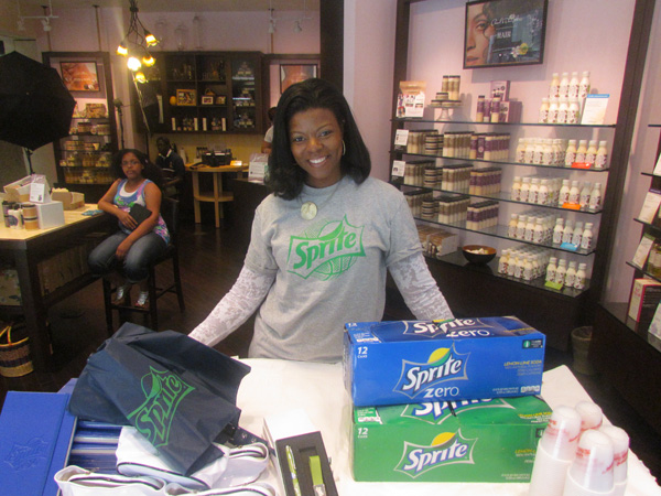 Sprite Zero sponsored this fabulous event