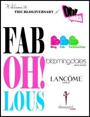 Oh! Nikka - Blogiversary at Bloomingdale's in Lenox Square