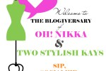 Oh! Nikka & Two Stylish Kays - Blogiversary at Salon Aamono