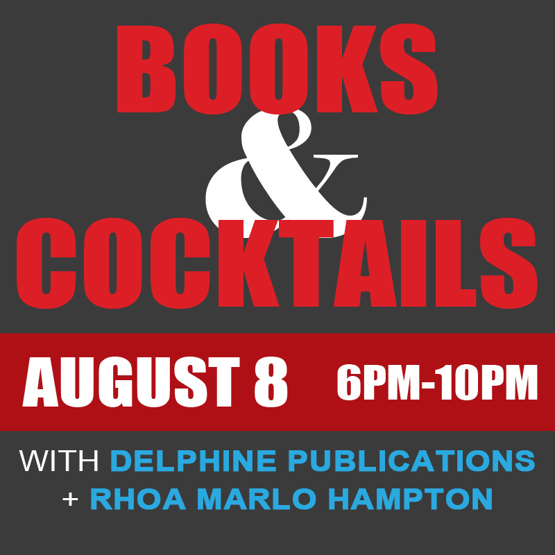 Books and Cocktails with Delphine Pulblications and RHOA Marlo Hampton