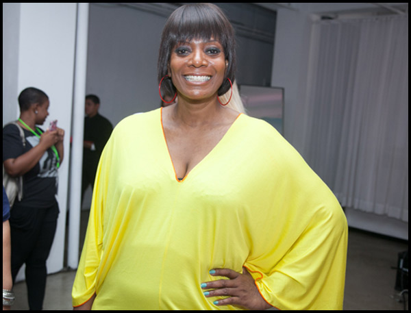 CEO of Full Figured Fashion Week, Gwen DeVoe