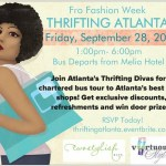 Thrifting Atlanta – Fro Fashion Week