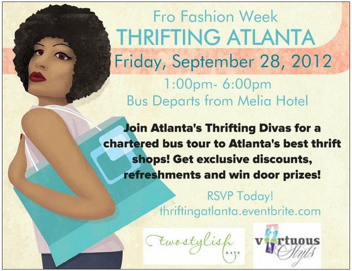 Thrifting Atlanta - Fro Fashion Week