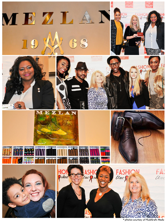 Fashion Uncorked Kick-Off Event at Mezlan Shoes