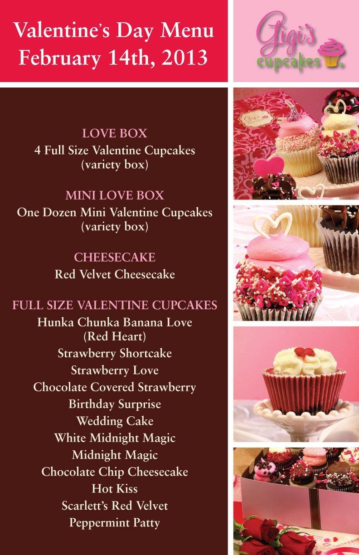 Long list cupcakes