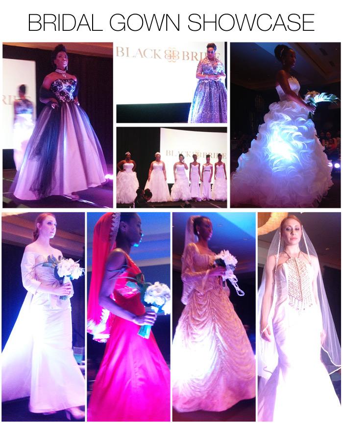 Bridal Gown Showcase - Black Bride 2013