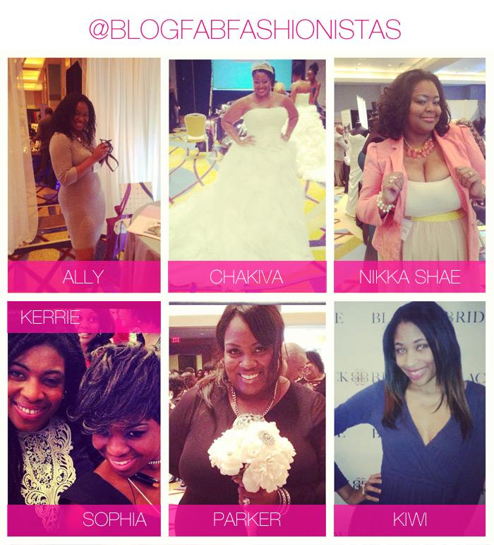 Blog Fab Fashionistas at Black Bride 2013