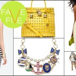 Trend Alert: Five Fashionable Favorites For Spring
