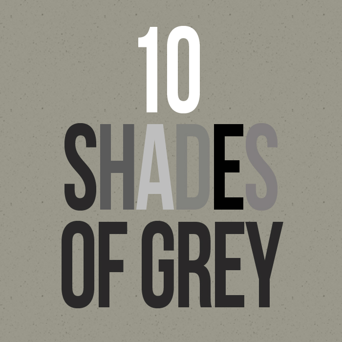 10 Shades of Grey - Simon Style Setter