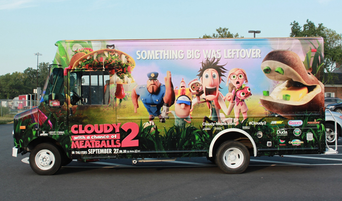 Cloudy with a Chance of Meatballs 2 Foodimobile