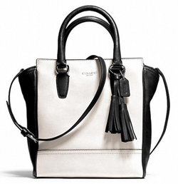 Coach Legacy Tanner Two-Tone Crossbody
