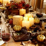Fabulously Chic Tablescapes for Thanksgiving