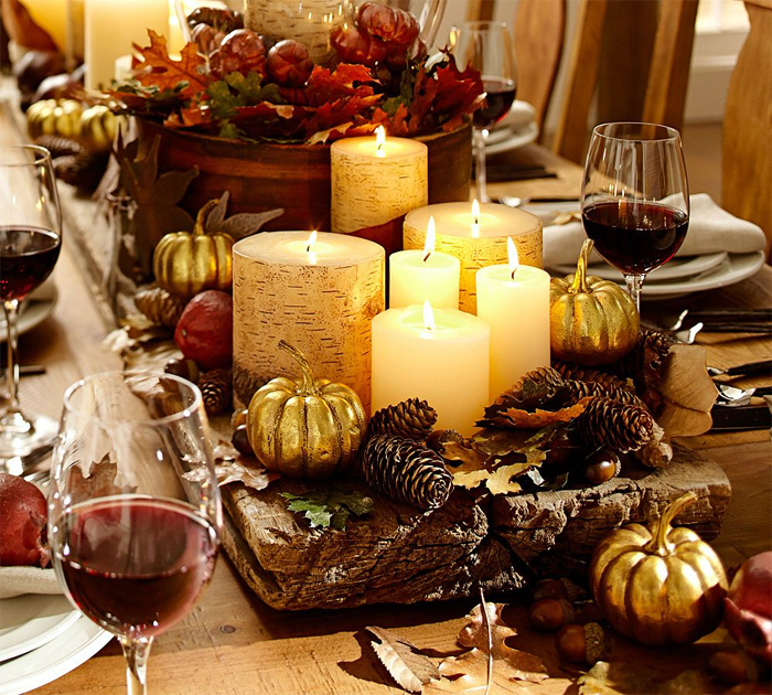 Fabulously chic tablescapes for thanksgiving oh nikka