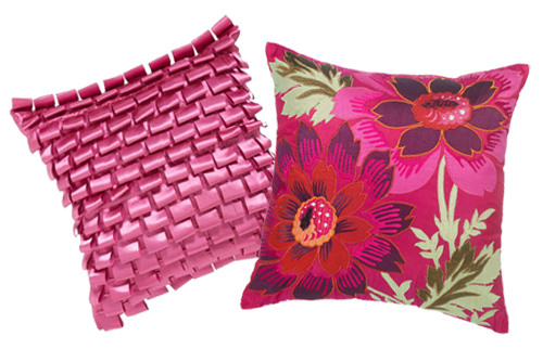 Abbey Ribbon Pillow and Lydia Pillow by KAS Designs Nordstrom