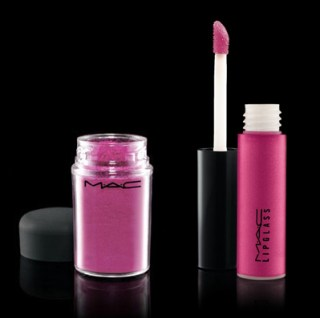 MAC Cosmetics eye pigment and lipglass