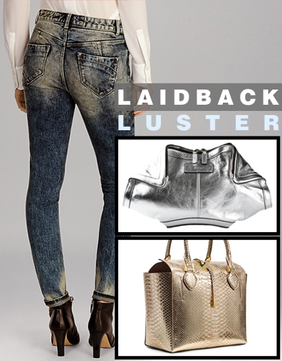 Metallic and Iridescent Styles: Laidback Luster
