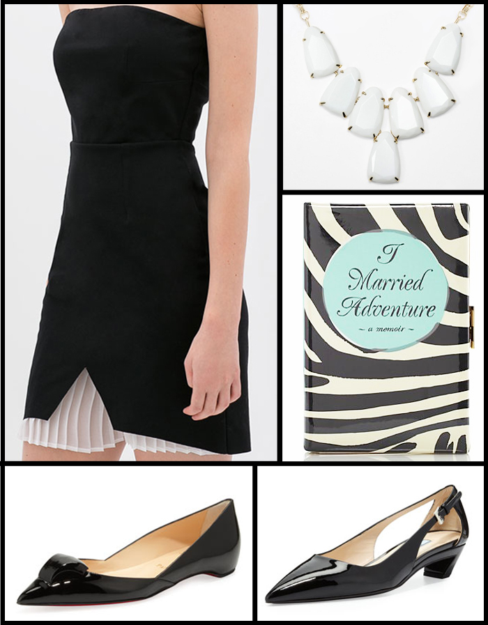 Trend Report: Black & White Styles for Happy Hour