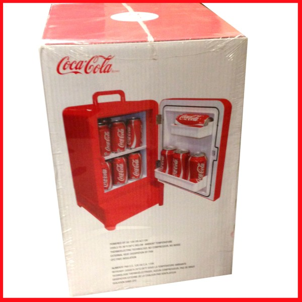Retro Coca-Cola Mini Fridge