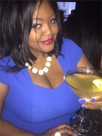Nikka Shae at Red Martini lounge in Buckhead