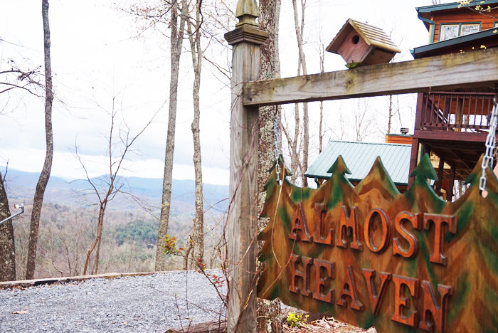 Blue Ridge Mountains cabin Oh Nikka