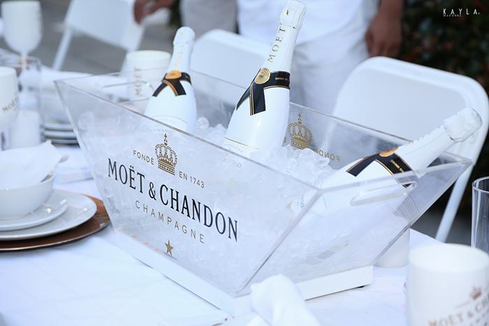 Diner en Blanc ATL Moet & Chandon Ice Imperial