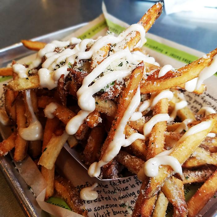 BurgerFi Midtown Urban Style Fries