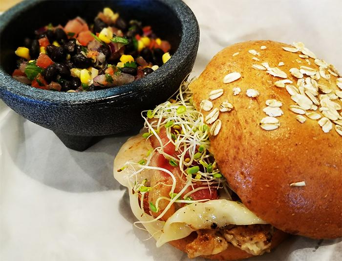 Grub Burger Bar Jive Turkey burger