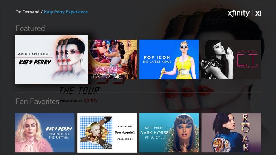 Xfinity Katy Perry Witness Tour