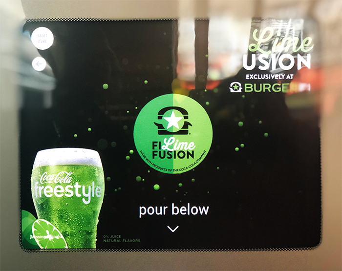 BurgerFi Beyond Burger Fi Lime Fusion