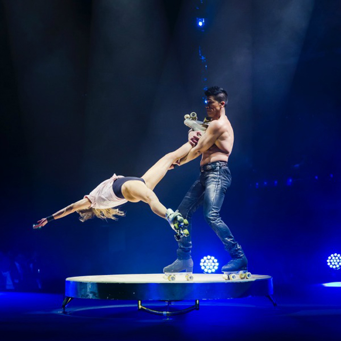Dandino Photo by Kirsten Nijhof Big Apple Circus