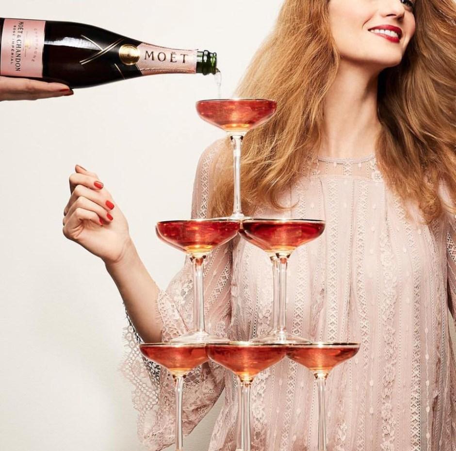 Moet champagne La Fête du Rosé Festival 2018