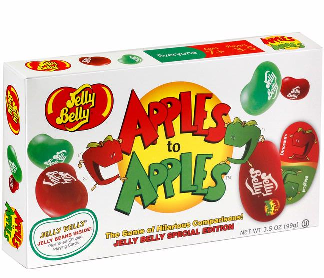 Jelly Belly Apples To Apples Card Game Jelly Beans Candy