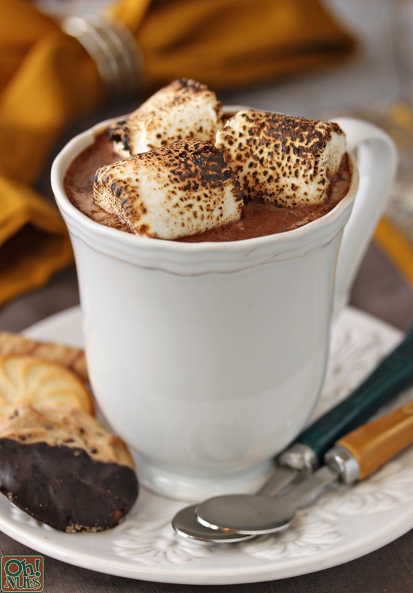 Image result for toasted marshmallow hot chocolate