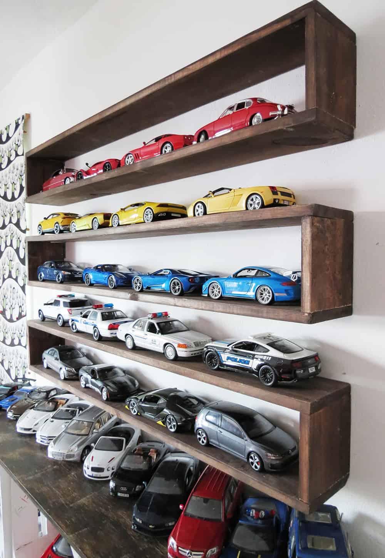diy storage shelving