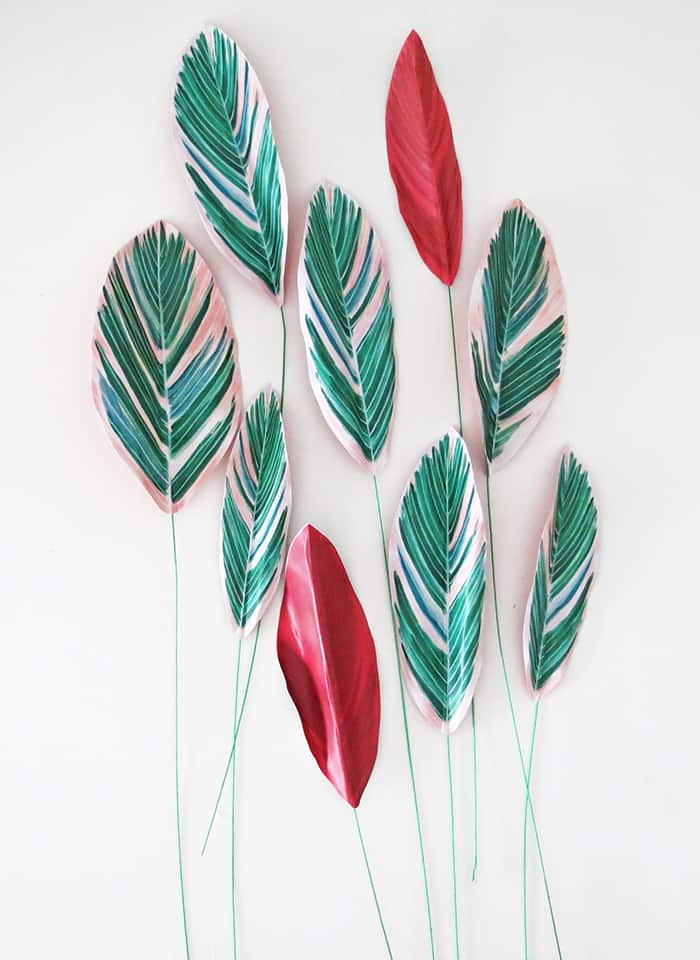 how to make diy paper plant make more leaves