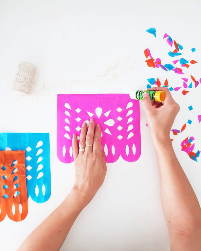 how to make diy papel picado banner