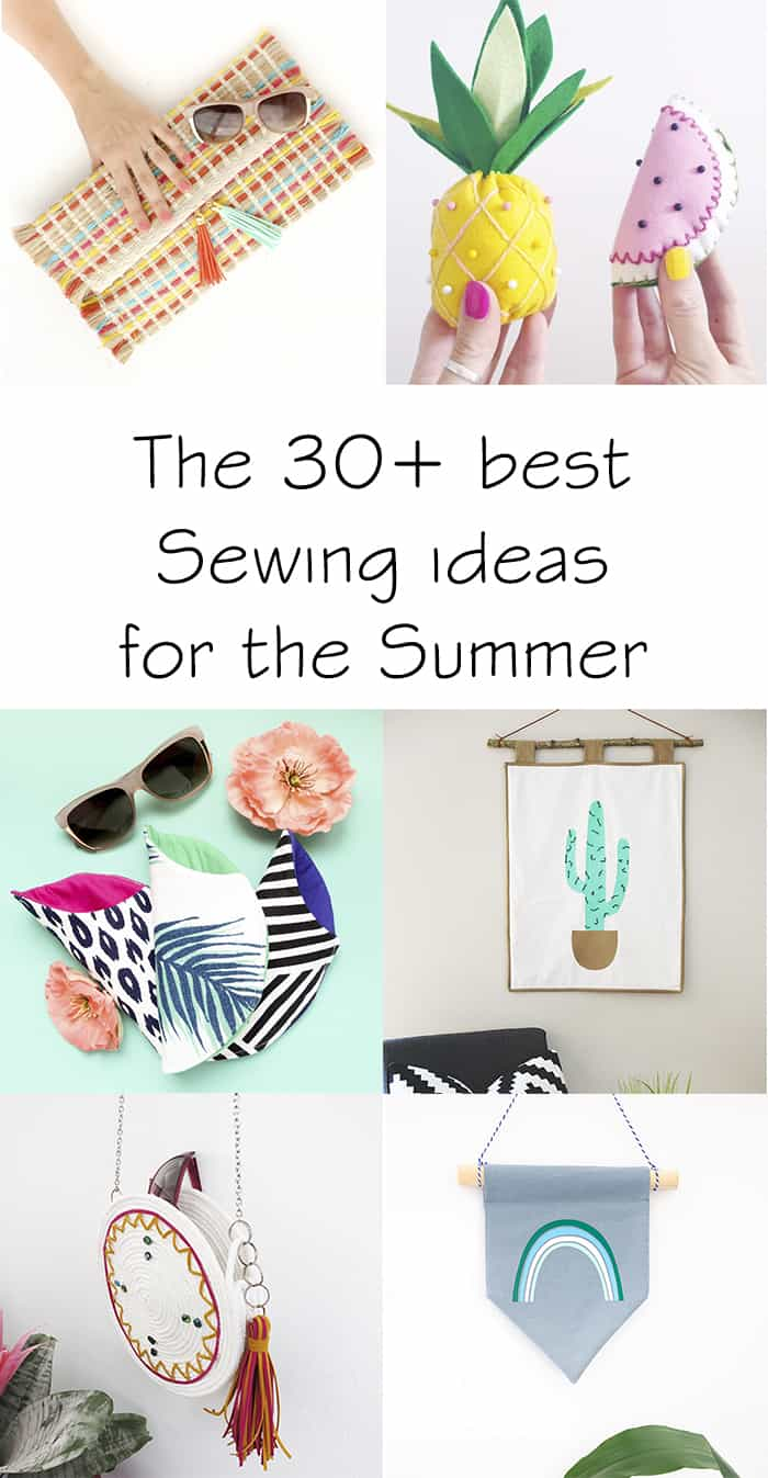 35 Easy Sewing project ideas for Summer time