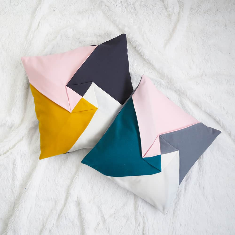 orrigami cushion cover sewing pattern