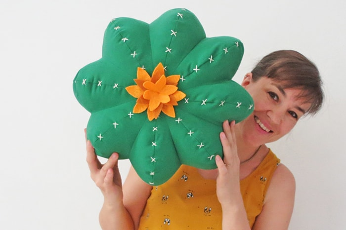 Cactus pillow pattern