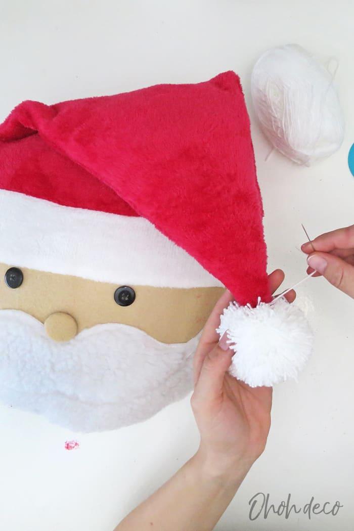 sew a santa pillow