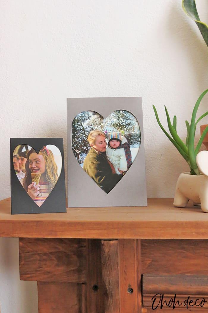DIY photo frame